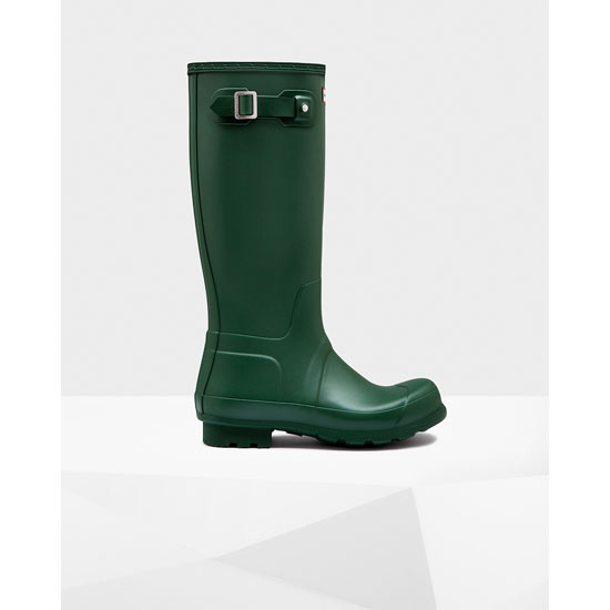 HUNTER GREEN Hunter Men's Original Tall Rain Boots Outlet Online