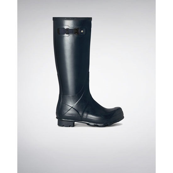 NAVY Hunter Men's Norris Field Rain Boot Outlet Online