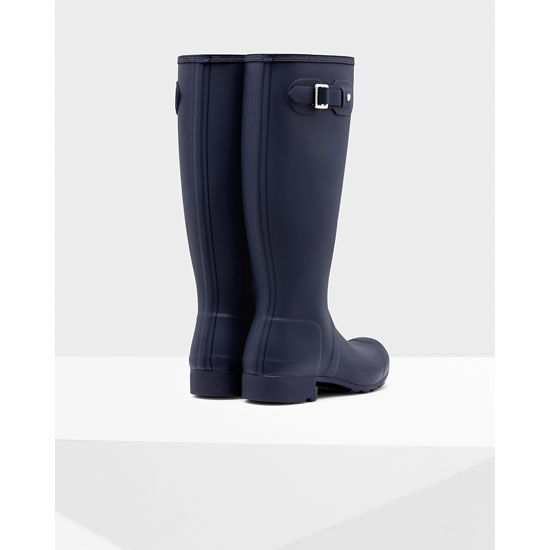 NAVY Hunter Women\'s Original Tour Rain Boots Outlet Online