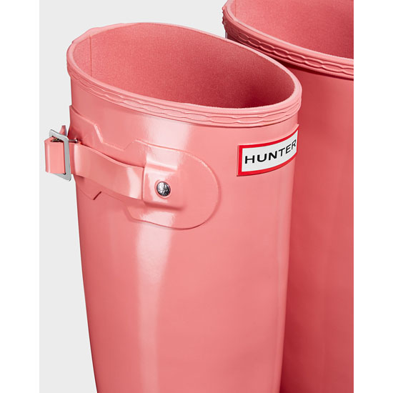 PINK Hunter Women\'s Original Tall Gloss Rain Boots Outlet Online