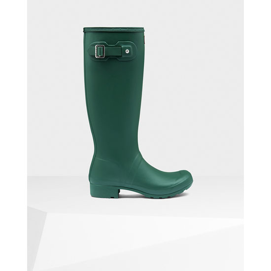 HUNTER GREEN Hunter Women\'s Original Tour Rain Boots Outlet Online