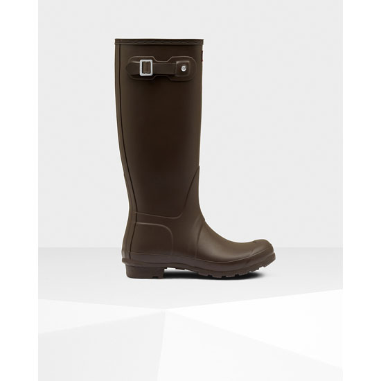 BITTER CHOC Hunter Women's Original Tall Rain Boots Outlet Online