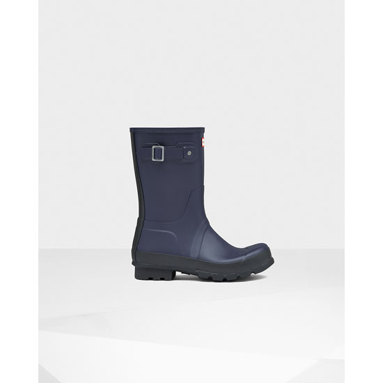 MIDNIGHT Hunter Men's Original Two Tone Short Rain Boots Outlet Online