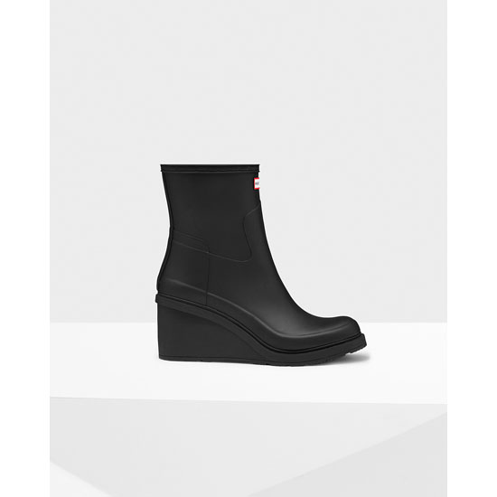 BLACK Hunter Women's Original Refined Wedge-Sole Boots Outlet Online