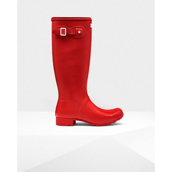 MILITARY RED Hunter Women\'s Original Tour Rain Boots Outlet Online