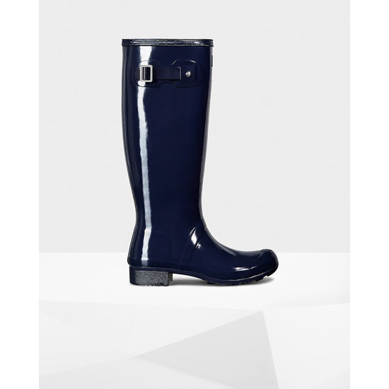 MIDNIGHT Hunter Women's Original Tour Gloss Rain Boots Outlet Online