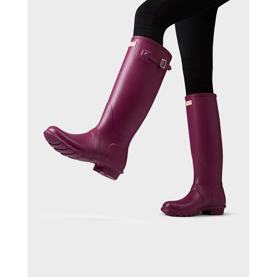 VIOLET Hunter Women\'s Original Tall Rain Boots Outlet Online